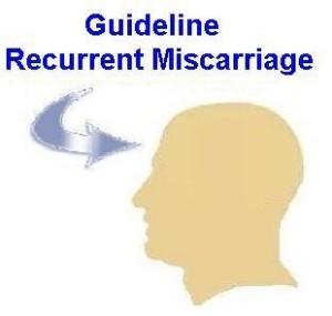 herhaalde miskramen guideline